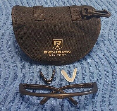 Revision SAWFLY Tactical Ballistic Shooting Glasses XLRG Rebuild Kit - w/Case!
