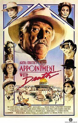 APPOINTMENT WITH DEATH (DVD) DETECTIVE MYSTERY POIROT Agatha Christie