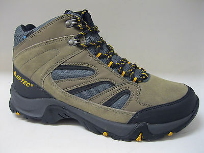 Hi-tec mens hiking boots. Idaho. Smokey brown leather