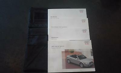 AUDI A4 Cabriolet Owner's Manual 2007