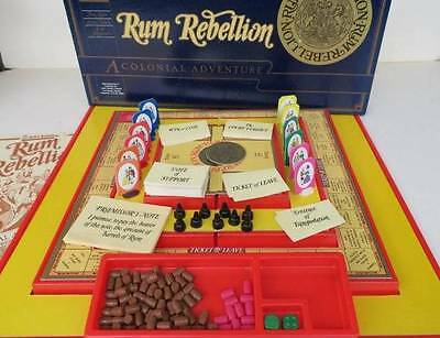 Vintage Rum Rebellion John Sands Board Game - 1983