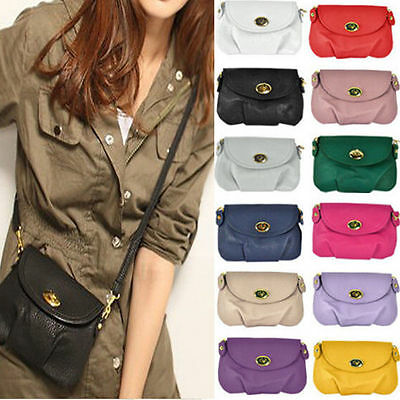 Women Handbag Messenger Shoulder Bag Small Mini Crossbody Casual Travel Satchel