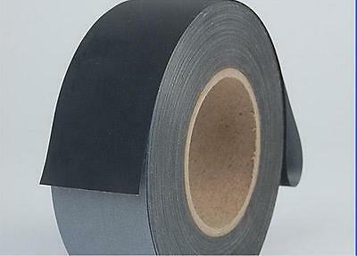 Black Reflective Safety Conspicuity Tape Sew on 2'' Trim Fabric 3m=10ft M3446 QL