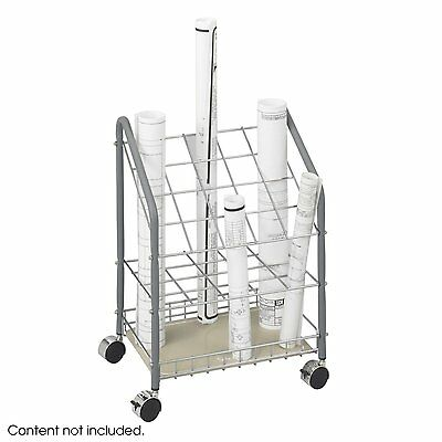 Safco 3091 Wire Roll File Document Stand 20 Compartments