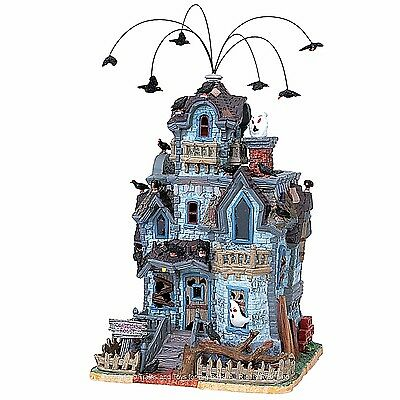 Lemax 85665 ABANDONED HOUSE Spooky Town Building Animated Halloween Decor I
