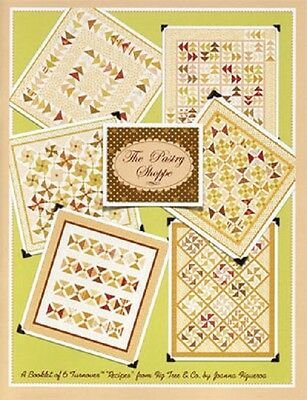 """Patchwork Quilting Book """"The Pastry Shoppe"""""""