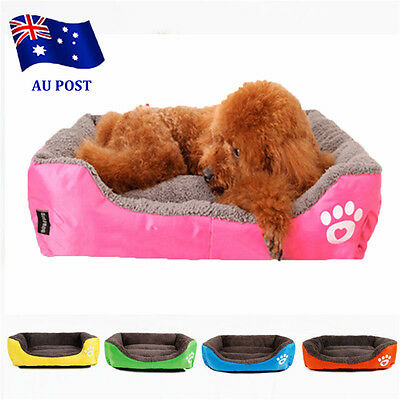 Pet Dog Cat Bed Puppy Cushion House Pet Soft Warm Kennel Dog Mat Blanket BO