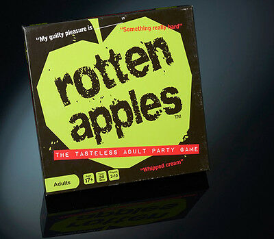 Rotten Apples Hilarious Adult Party Board Game New & Sealed
