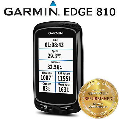 Garmin Edge 810 GPS Computer Device Only Road Bike Racing + Mount