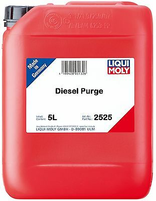 LIQUI MOLY Diesel Engine Purge Additive 5 Litres Injector Cleaner 2525