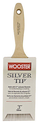 Wooster Brush 5222-3 Silver Tip Paintbrush, 3-Inch