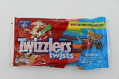 Twizzlers Rainbow Twists 351g American Liquorice/Candy Free UK Delivery
