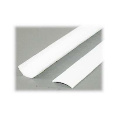 Wiremold C40 5-Ft. Cornermate White Self-Adhesive Cord Hider - Quantity 10