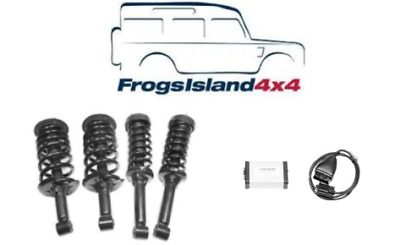 Land Rover Discovery 3, Air to Coil Conversion kit , standard ride height TF261