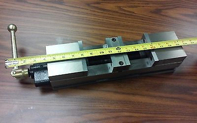 "4"" DOUBLE LOCK CNC PRECISION VISE 20"" overall length #8500-DL4-S - NEW"