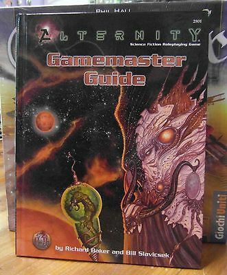 Alternity RPG  Gamemaster Guide Science Fiction Role Playing TSR