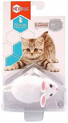 Hexbug Mouse Robotic Cat Toy - Random Color random movement stopping and pausing • EUR 13,65