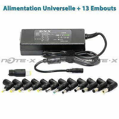 CHARGEUR UNIVERSEL ALIMENTATION PC PORTABLE 90W 13 Embouts