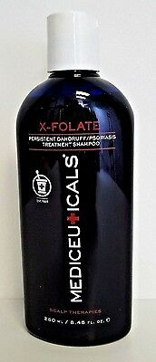 Medceuticals X-Folate Persistant Dandruff & Psoriasis Treatment Shampoo 8.45 oz