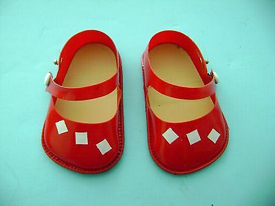 Vintage German Turtle Mark Celluloid Doll Shoes Kathe Kruse Germany