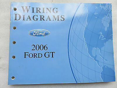 2006 Ford GT Shop Factory Electrical Service Repair Manual Wiring OEM