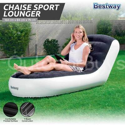 Inflatable Chair Seat Lounge | Bestway Chaise Sport Camping Lounger