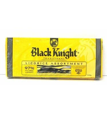Black Knight Licorice Assortment 250g x 12