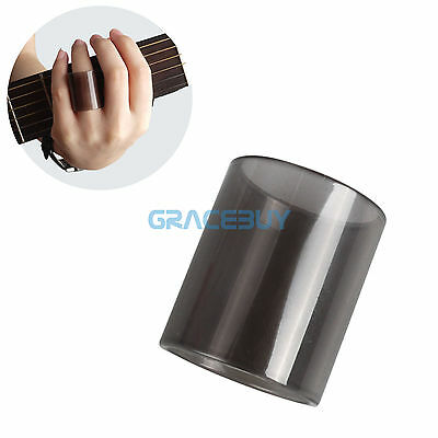 Acoustic Electric Guitar Bass Glass String Slides Tone Bar Slide Black 30mm
