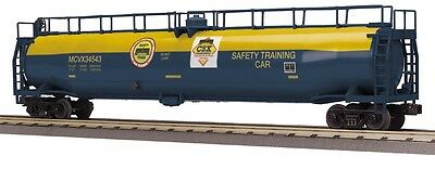 Model Trains O Scale - MTH CSX 33,000 Gallon Tanker #34543 + ****FREE GIFT****