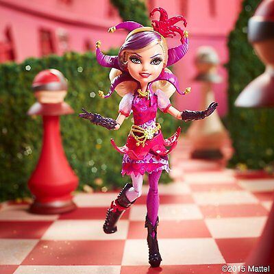NEW Ever After High Way Too Wonderland Courtly Jester Doll Accessories