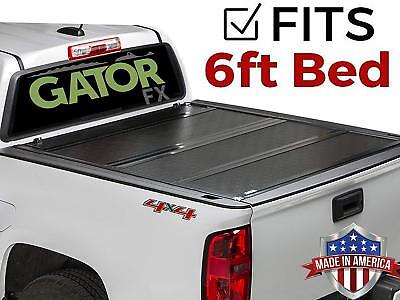 edec2994548 Gator FX (fits) 2015-2019 Chevy Colorado Canyon 6 FT Aluminum Hard Tonneau