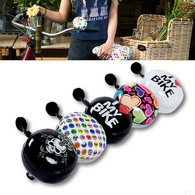SAHOO colorful Ring Bike Bicycle Cycle Loud Sound Alarm Ding Dong Bell