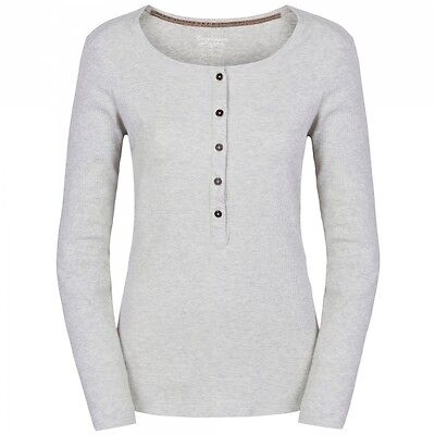 Craghoppers Womens Ladies Bilberry Base Layer Long Sleeve T-shirt Calico White