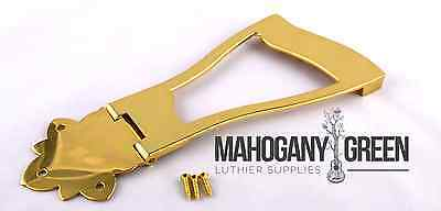Gold Harp Tailpiece for thick Electric Semi Hollow Semi Acoustic Guitar
