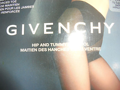 Givenchy Womens Girdle Top Full Support Leg Pantyhose Stocking Nude Size B NWT