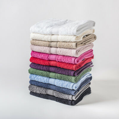 100% Egyptian Cotton Face Flannels 500 Gsm - 2 Pack