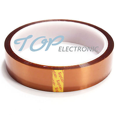 12mm x 30M 1.2cm High Temperature Tape Heat Resistant Polyimide Tape ATF