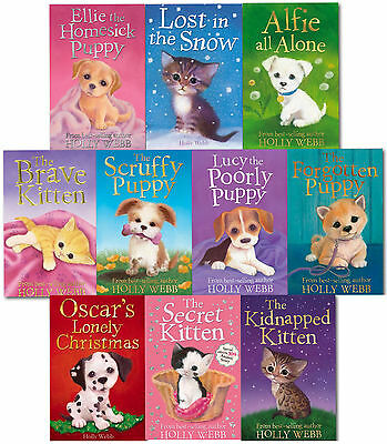Holly Webb Series 3 Animal Stories 10 Books Collection Set (Books 21- 30)