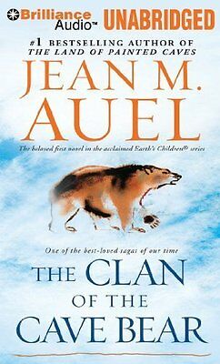 THE CLAN OF THE CAVE BEAR unabridged audio book on CD by JEAN M. AUEL