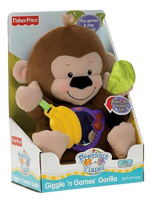 Fisher-Price Precious Planet Giggle 'n Games Gorilla