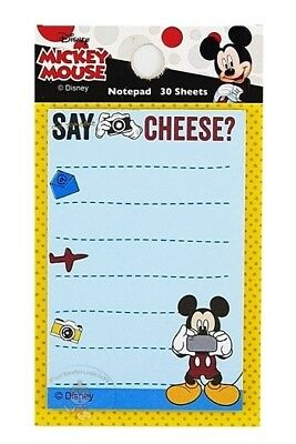 Cute Disney Mickey Mouse 30 Sheets Notepad/memo Pad/cute Paper/small Note #a