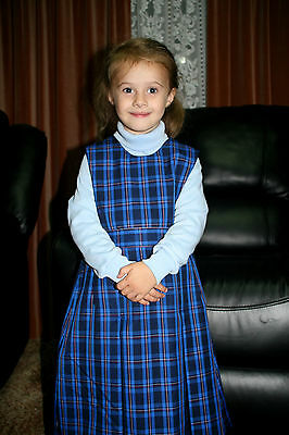 Girls Winter School Pinafore Australian Made