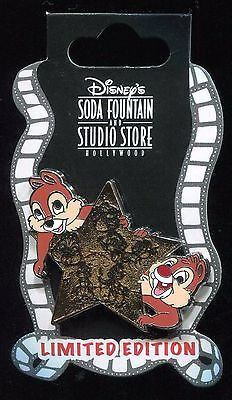 DSF Character Star Chip N Dale Surprise LE 500 Disney Pin 72928