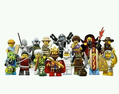*FREE EXPRESS POST* LEGO Minifigures Series 13 Complete Set 16 71008 Minifigure