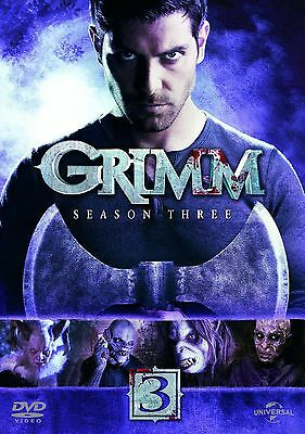 GRIMM - Complete Series 3 Collection Boxset (NEW DVD R4)