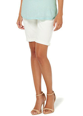 NEW - Esprit - Bermuda Shorts in Off-White - Maternity Shorts