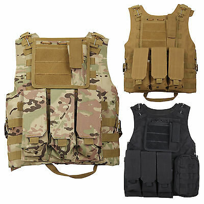 New Tactical Military Vest Army Paintball Airsoft Combat Assault Vest Adjustable