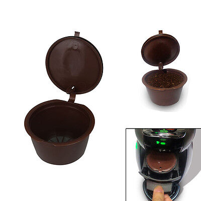 Reusable Refillable Coffee Capsules for Dolce Gusto Brewers Refill Cup Filter