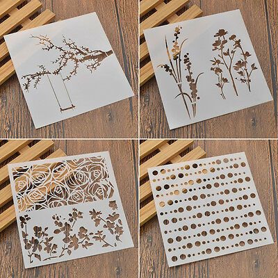 Children Room DIY Wall Decor Template Spray Paint DIY Craft Drawing Stencils