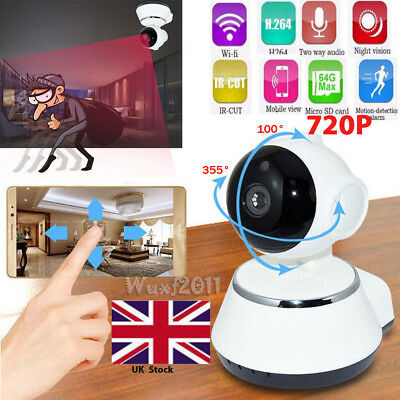 HD 720P Pan Tilt IP Wireless Wifi Camera Home Security CCTV Network Night Vision